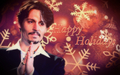 Happy Holidays! My JD Fan-art - johnny-depp fan art