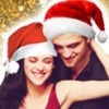 Robert Pattinson & Kristen Stewart photo probably containing a portrait entitled Have a Merry Robsten Christmas
