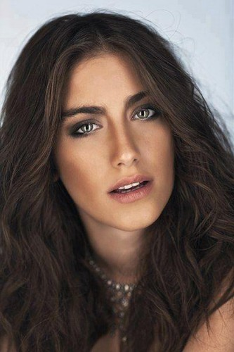 Hazal Kaya Mecmua magazine photo 2012