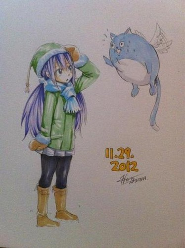 Hiro Mashima paintings