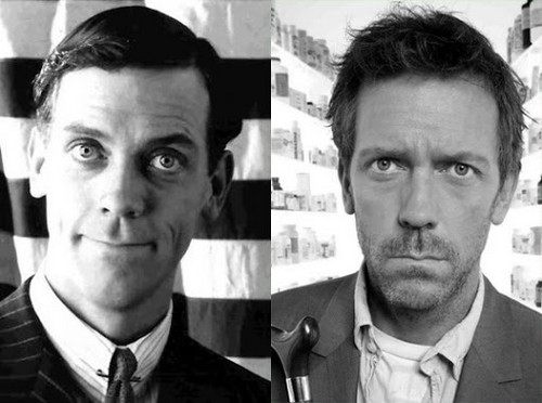 Hugh Laurie (Bertie Wooster) and Hugh Laurie (Dr House)
