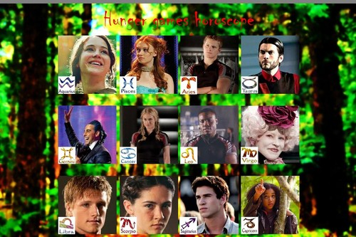 Hunger games - horoscope
