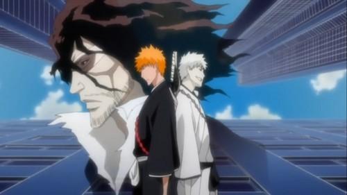 Ichigo, Zangetsu & Shirosaki