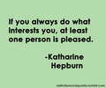Interests - quotes photo