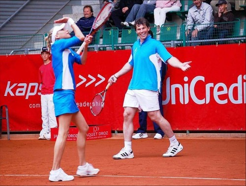 Jagr and Kournikova