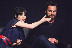 Jake M. Johnson & Zooey Deschanel