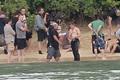 Jennifer Lawrence & Shirtless Josh Hutcherson: 'Catching Fire' Sea Scenes! - katniss-everdeen photo
