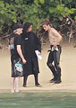 Jennifer Lawrence &amp; Shirtless Josh Hutcherson: 'Catching Fire' Sea Scenes!