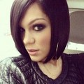 Jessie having her hair styled back into a bob, 30 November - jessie-j photo