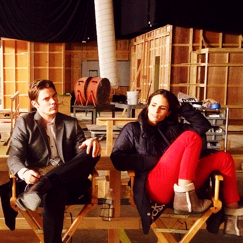 Josh Henderson wallpaper probably with a warehouse, a living room, and a holding cell entitled Josh and Jordana Brewster