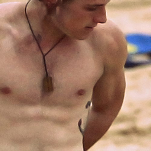 Josh Hutcherson kertas dinding possibly containing a hunk, a six pack, and skin entitled Josh