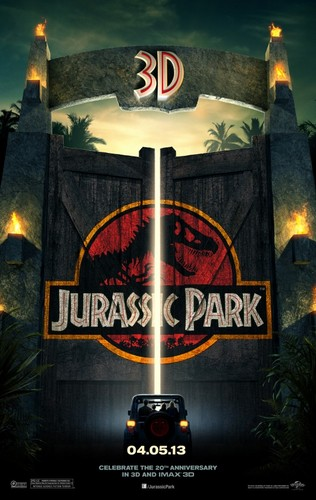 Jurassic Park 3D in cinemas in 2013