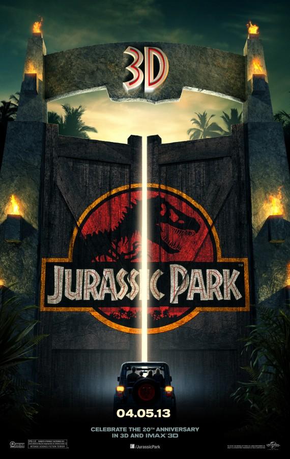 Estrena el 29 de Agosto en Argentina, Jurassic Park 3D.