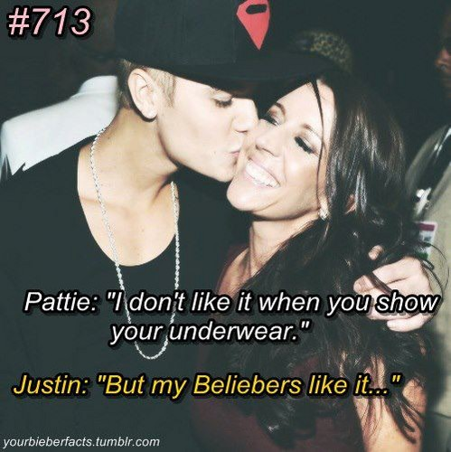Justin and his mom<3