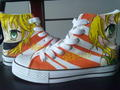 Kagamine Rin & Len hand painted shoes
