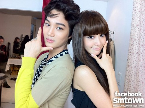 Kai and Yoona