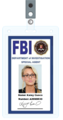 Kaley Cuoco FBI ID CARD