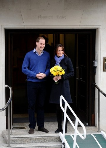 Kate Middleton Leaves the Hospital