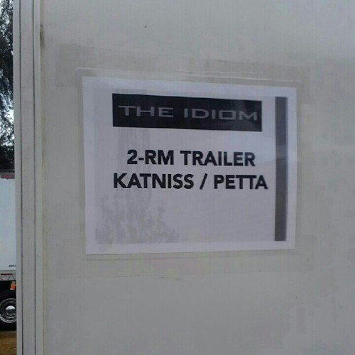 Katniss and Peeta's trailer
