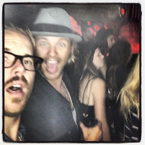 Keith Harkin wallpaper probably containing a fedora and anime called Keith & his friends