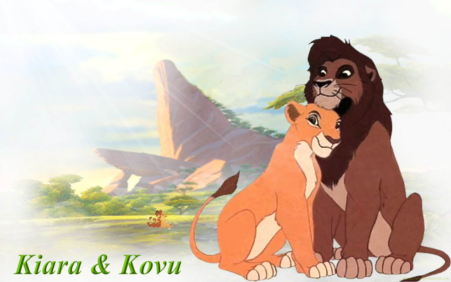 Kiara and Kovu