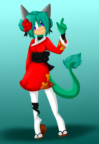 Sonic fan Characters wallpaper called chimono, kimono Girl