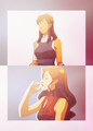 Korra and Asami - avatar-the-legend-of-korra photo