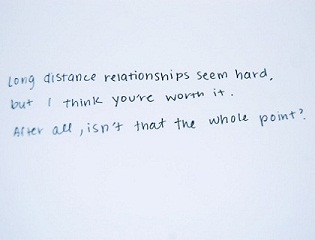 Long Distance Relationships wallpaper called LDR