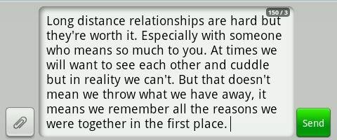 Long Distance Relationships karatasi la kupamba ukuta entitled LDR