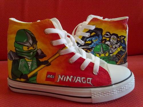 LEGO 닌자고 cusmtom shoes