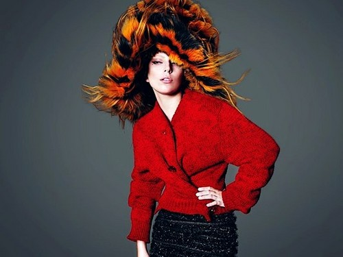 Lady gaga for Vogue 2012