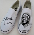 LeBron James customized shoes
