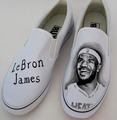LeBron James customized shoes