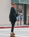 Lea Leaving A Casting Meeting - December 4, 2012 - lea-michele photo