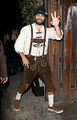 Leaving Matthew Morrisons Halloween Party - tyler-hoechlin photo