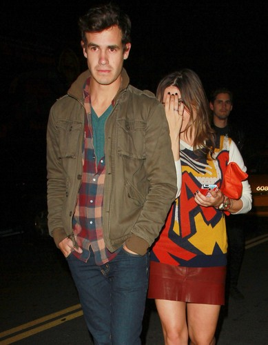 Leaving The Sayers Club In Hollywood - November 24, 2012