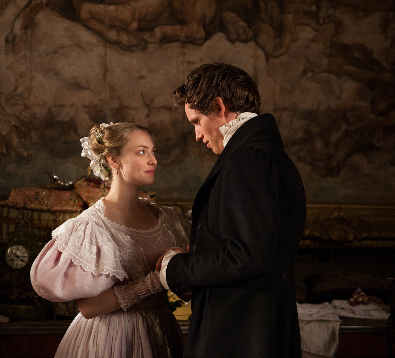 marius and cosette meet the press