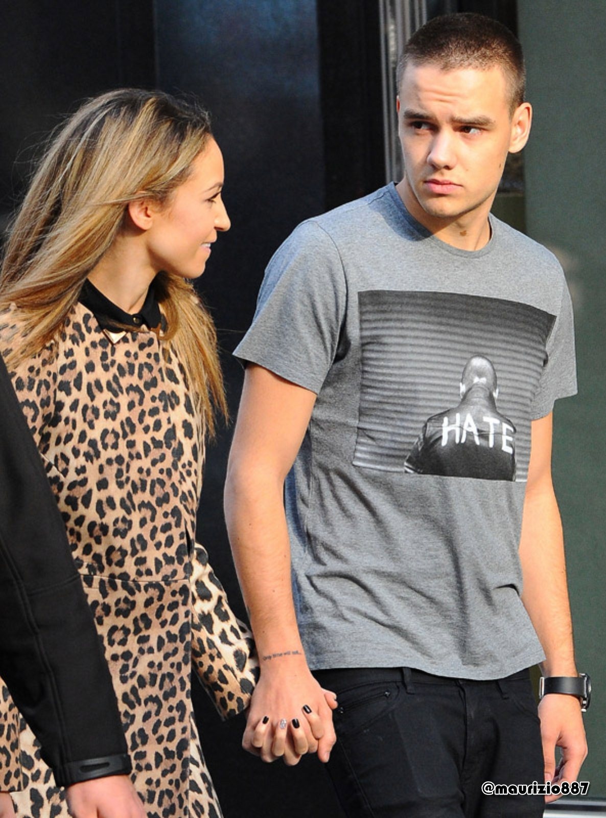 Liam Payne & Danielle Peazer NY, 2012 - One Direction ...