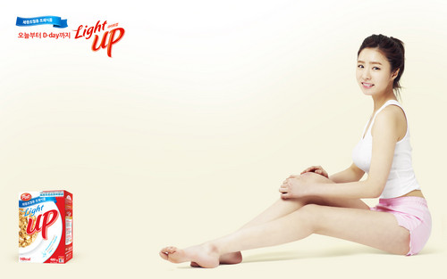 Shin Se Kyung wallpaper possibly containing skin entitled Light Up