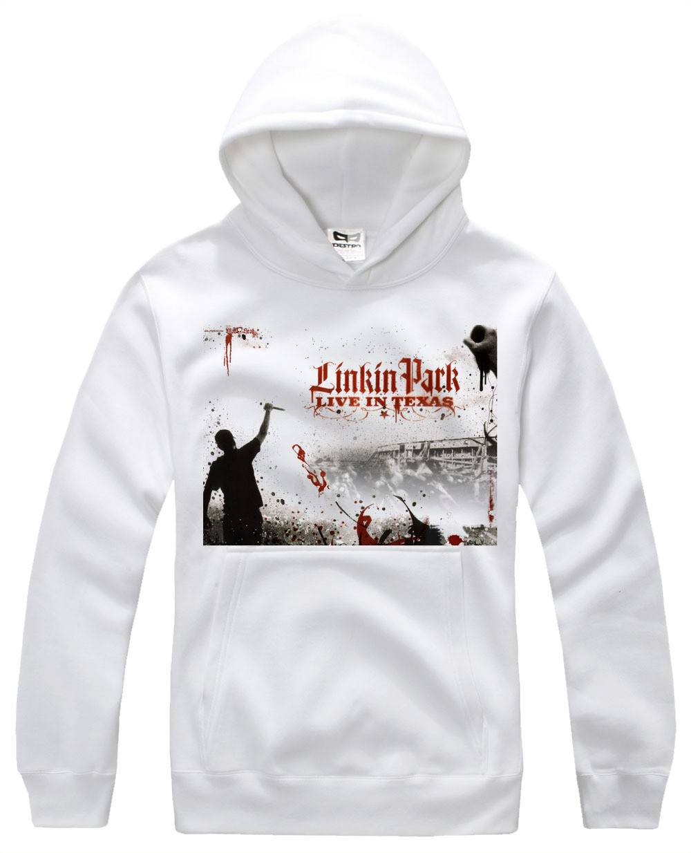 linkin park live in lexas special designed logo pullover. Black Bedroom Furniture Sets. Home Design Ideas