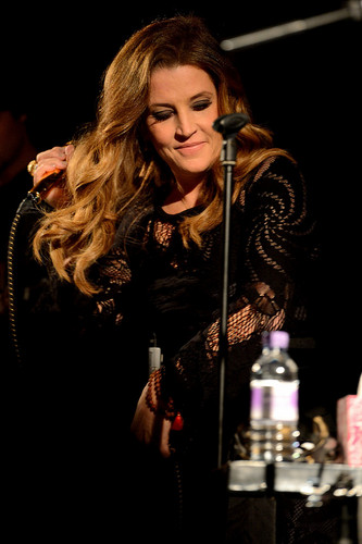 Lisa Marie Presley arbusto, bush Hall Londres 2012