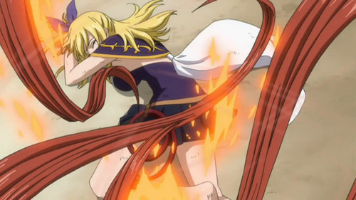 Lucy vs Flare :)