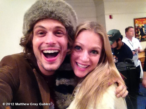 Aj Cook And Matthew Gray Gubler Dating Gray Gubler and AJ Cook