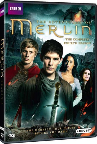 Merlin Fourth Season Cover - Complete