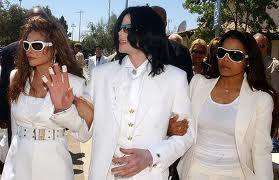 Michael And His Two Sisters, Janet and LaToya