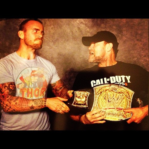 Michael Rooker and CM Punk