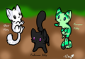 Minecrat adoptables I made on DA