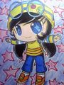 My Fan Art of Ying in Chibi - boboiboy fan art