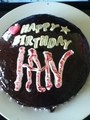 My home made Birthday cake 4 Ian
