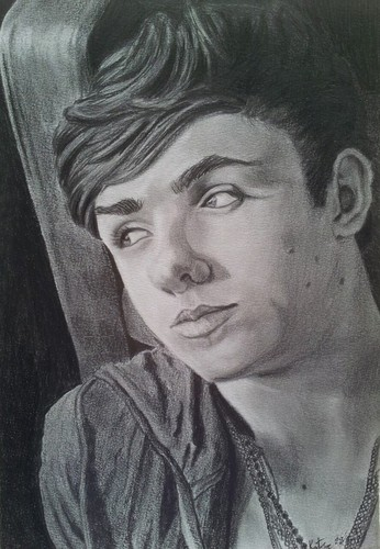 Nathan Sykes Drawing